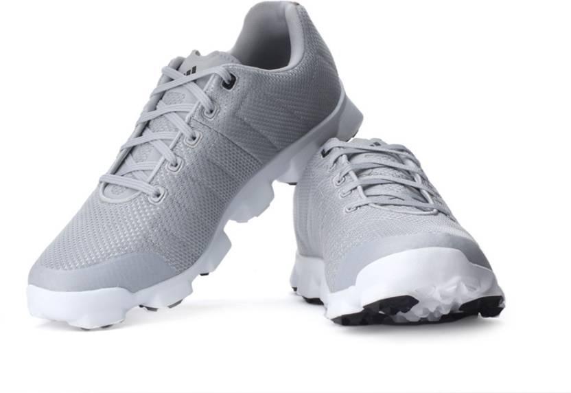 best cheap b6cc4 5ac63 Adidas Golf Crossflex Golf Shoes For Men (Black, White, Grey)