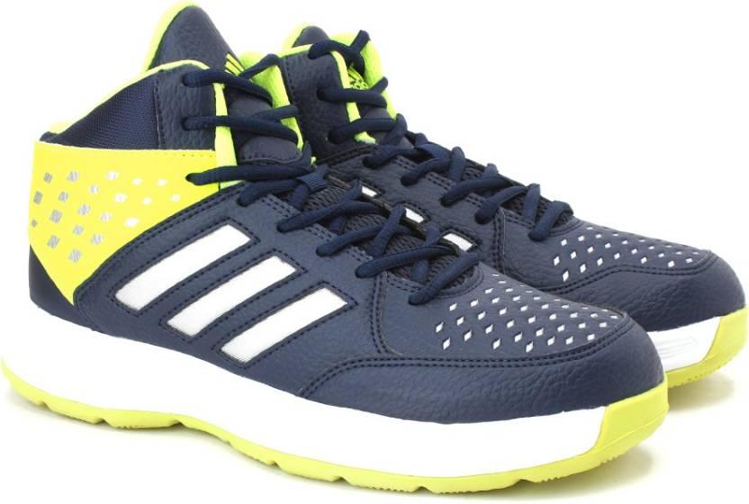 57cc8426ec06 ADIDAS BASECUT16 Basketball Shoes For Men - Buy CONAVY SILVMT SYELLO ...