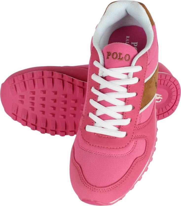 4e9733190b POLO RALPH LAUREN Sneakers For Women - Buy ROSE Color POLO RALPH ...