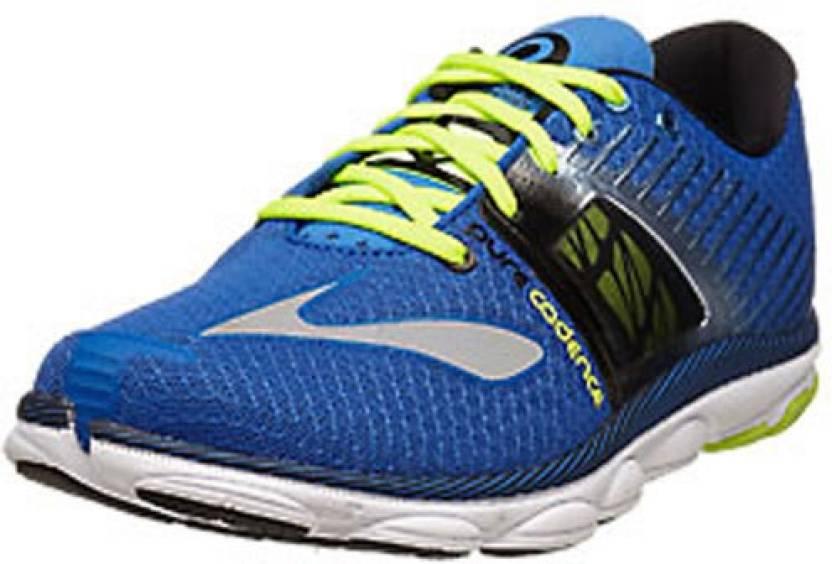 cbfef78fb34 Brooks PureCadence 4 Men s Running Shoes For Men - Buy Blue-Black ...
