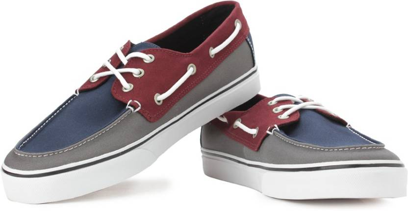 bd8d92388096b1 Vans Chauffeur SF Boat Shoe For Men - Buy Multi Color Vans Chauffeur ...