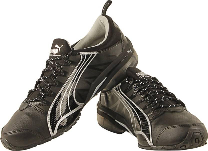Puma Voltaic DP Running Shoes For Men - Buy Black-metallic Color ... 36c221610