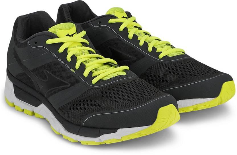 ff86c6a704f9 Mizuno Synchro Mx Running Shoes For Men - Buy Dark Shadow, Black ...
