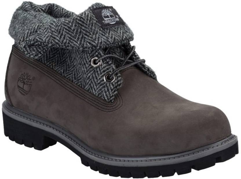 3e703cbf265 Timberland Boots For Men - Buy Grey Color Timberland Boots For Men ...