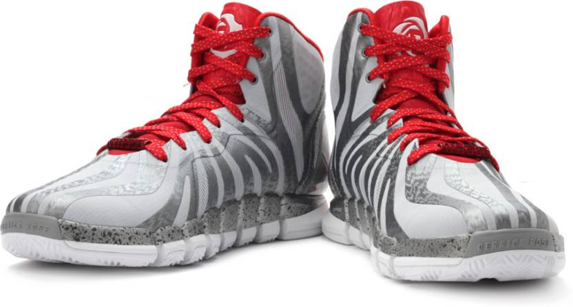 ADIDAS D Rose 4.5 Basketball Shoes For Men - Buy Grey Color ADIDAS D ... 147c1937d