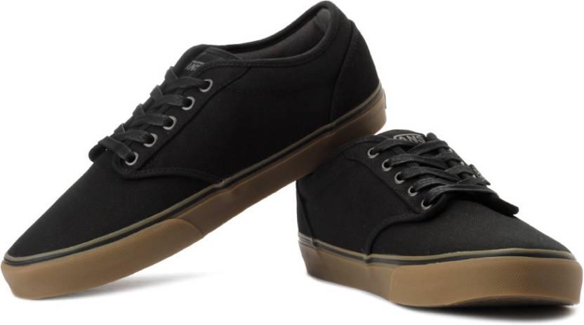 e07c92fd2516c Vans Atwood Canvas Sneakers For Men - Buy Black