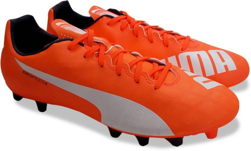 fe619890073b40 Puma evoSPEED 5.4 FG Football Shoes For Men - Buy lava blast-white ...