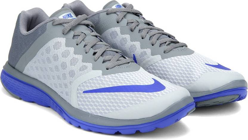 low priced 45814 fe086 Nike FS LITE RUN 3 Running Shoes For Men - Buy WOLF GREY/RACER BLUE ...