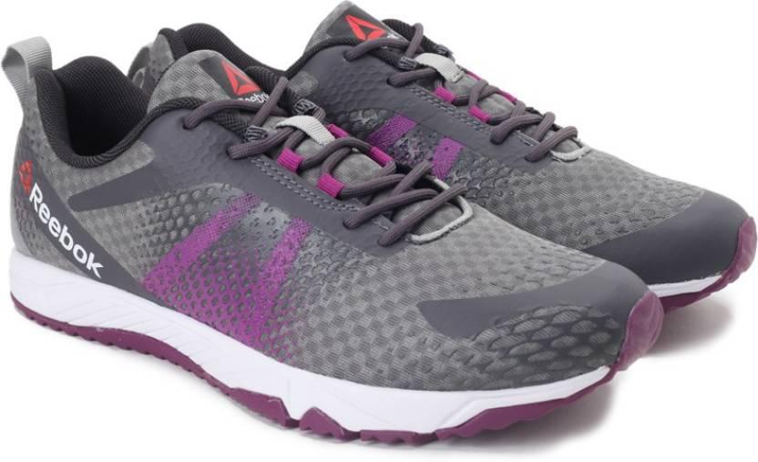 27b6f64a7ddda0 REEBOK BLAZE RUN Running Shoes For Women - Buy FLAT GREY ASH GREY ...