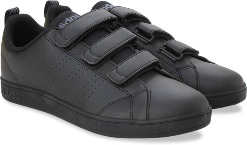 info for 7c983 96cb4 ADIDAS NEO VS ADVANTAGE CLEAN CMF Sneakers For Men (Black)