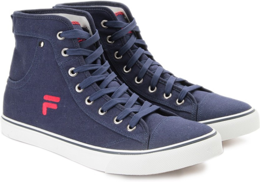 Fila EDGARDO Mid Ankle Canvas Shoes For