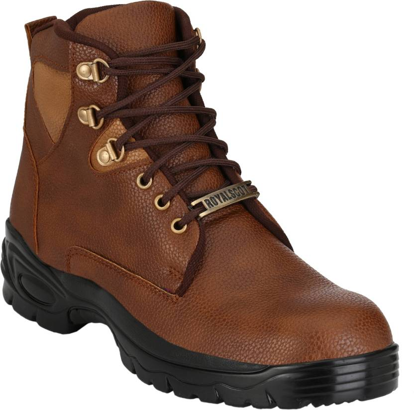 17edba82fe9 Udenchi UD700TAN Steel Toe Safety Boots For Men