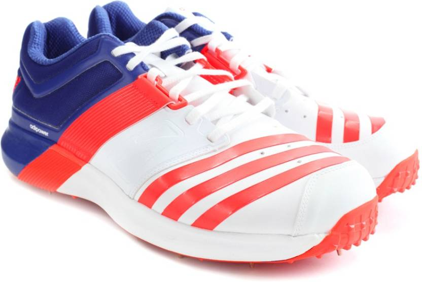 promo code afd6c 2eee2 ADIDAS ADIPOWER VECTOR Men Cricket Shoes For Men (Blue, Orange, White)