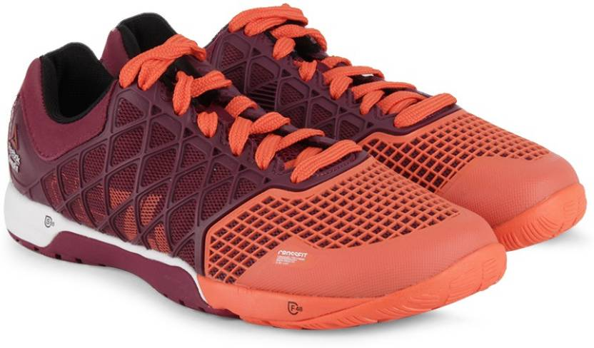 bcdf225358b REEBOK R Crossfit Nano 4.0 Training Shoes For Women - Buy Orange ...