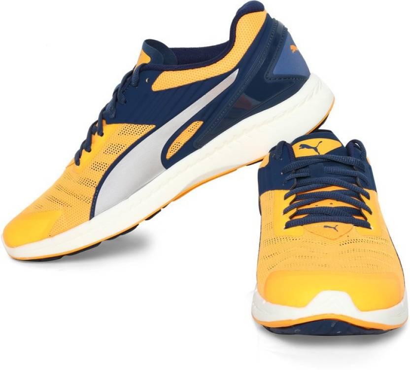 d339d9b9bcb779 Puma IGNITE v2 Running Shoes For Men - Buy Orange Pop-Blue Wing Teal ...
