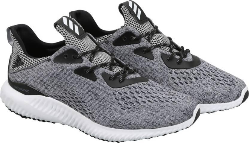 adidas alphabounce em m per gli uomini comprano scarpe da corsa cblack / ftwwht