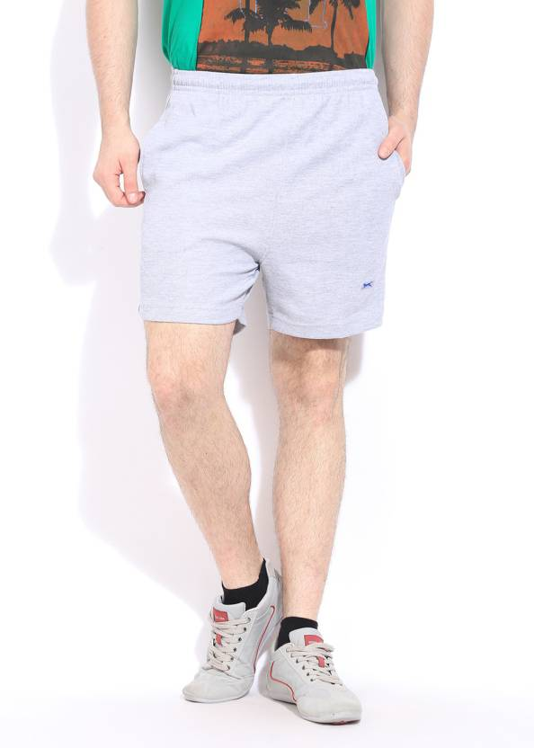 adbeca3b8a Black Panther Solid Men's Grey Sports Shorts - Buy Grey Black Panther Solid  Men's Grey Sports Shorts Online at Best Prices in India | Flipkart.com