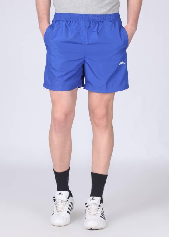 e663cbf33e Kappa Solid Men's Blue Shorts - Buy Blue Kappa Solid Men's Blue Shorts  Online at Best Prices in India | Flipkart.com