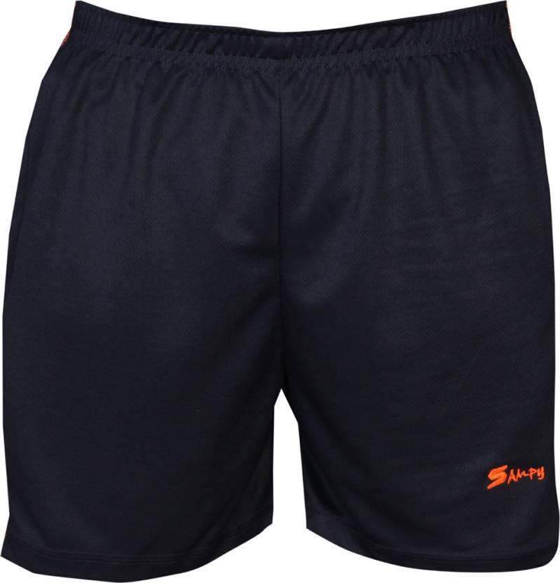 sampy Solid Men Dark Blue Sports Shorts 200acebf76