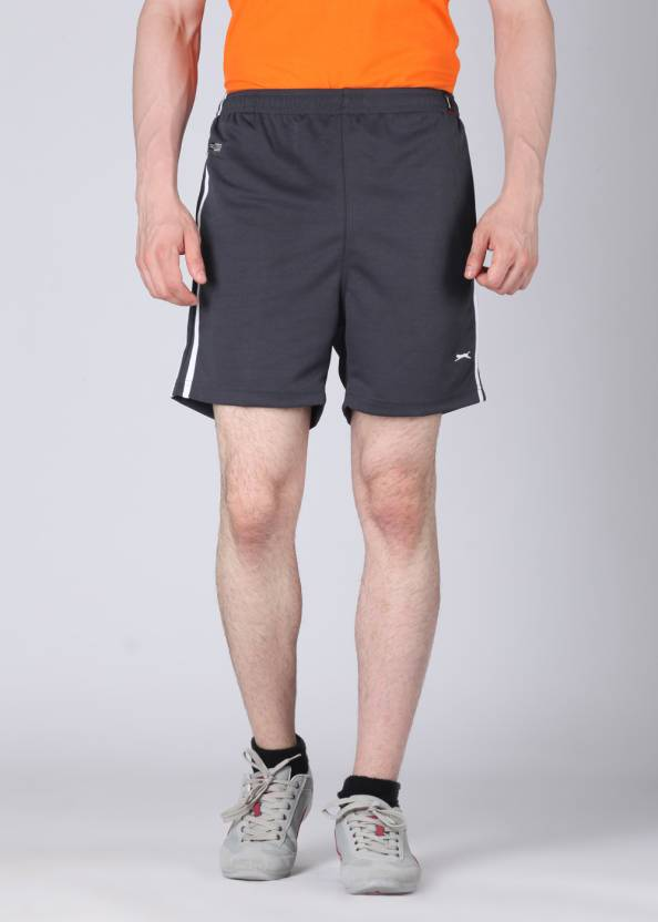 3ab7a76b6b Black Panther Solid Men's Grey Shorts - Buy Charcoal Black Panther Solid  Men's Grey Shorts Online at Best Prices in India | Flipkart.com