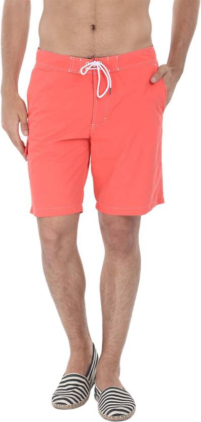 5802af5d16f4c Zobello Self Design Men's Pink Swim Shorts - Buy Bittersweet Orange Zobello  Self Design Men's Pink Swim Shorts Online at Best Prices in India |  Flipkart.com