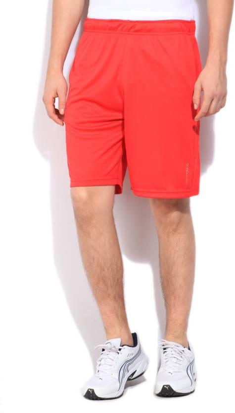 296db14de Being Human Solid Men Orange Sports Shorts - Buy RED Being Human Solid Men  Orange Sports Shorts Online at Best Prices in India