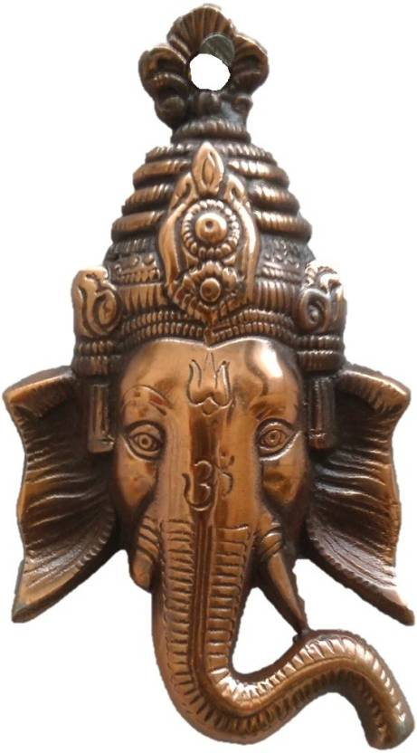JaipurCrafts Matel Wall Hanging Of Lord Ganesha Showpiece  -  17.78 cm