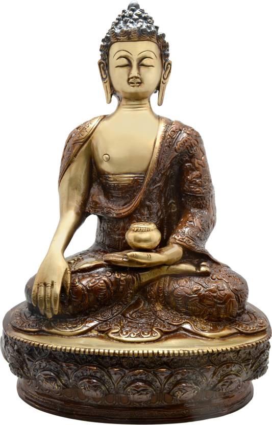 Handecor Akshobhya Buddha Decorative Showpiece - 31 25 cm