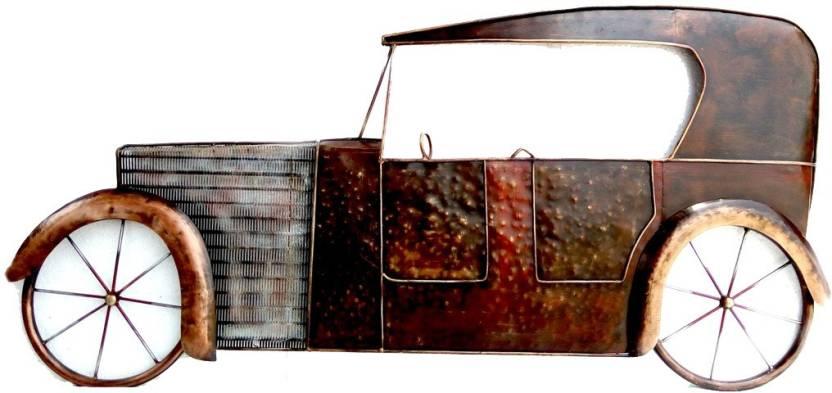 Nafees Vintage Car Wall Decor Decorative Showpiece - 69 cm ...