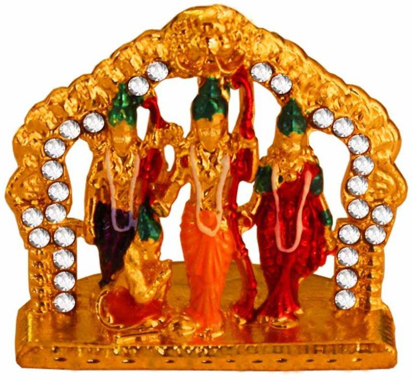 Rich Famous Indian Handicraft Showpiece Murti Ramdarbar Ram Sita
