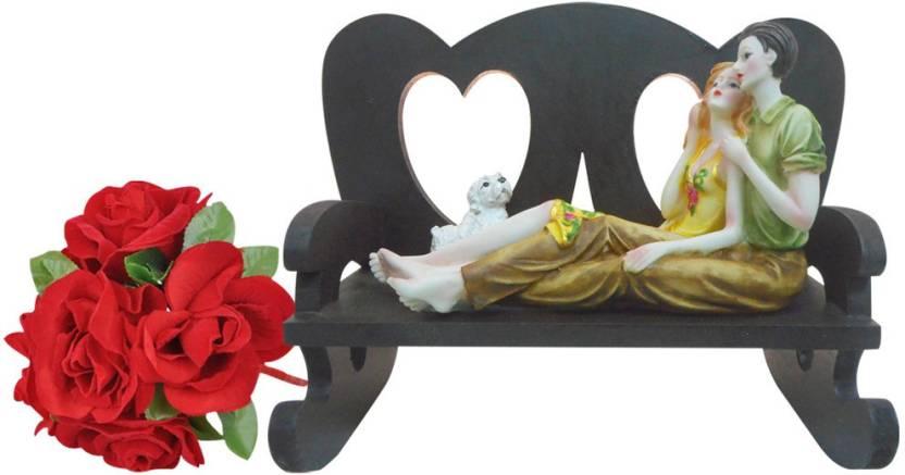 Sky Trends Valentine Gift Love Starue Artyficial Statue Best