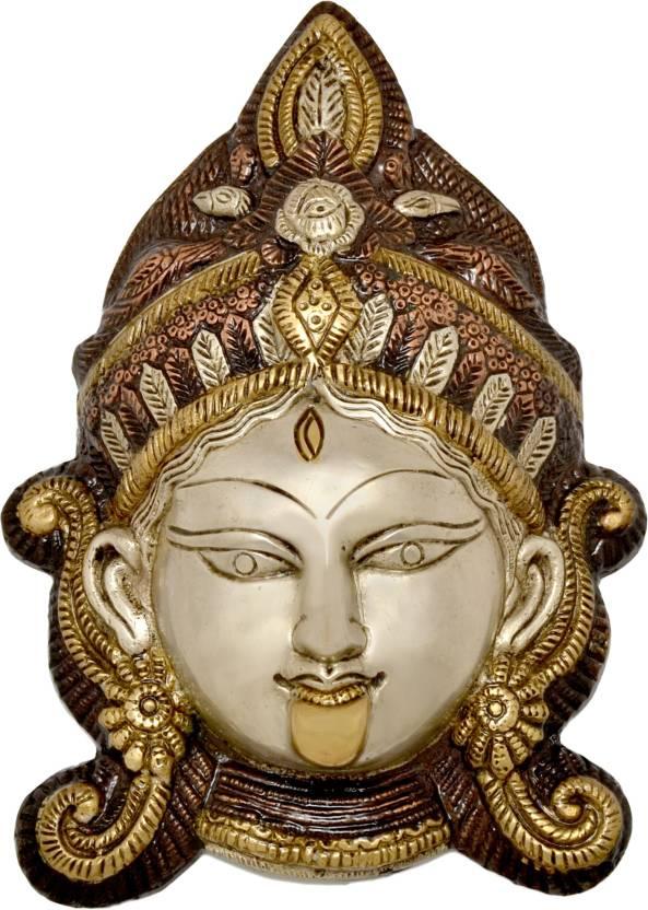 Handecor Durga Face Wall Hanging Showpiece  -  15 cm