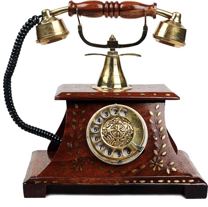 Woodstock Antique Operational Telephone Maharaja Style Decorative ...