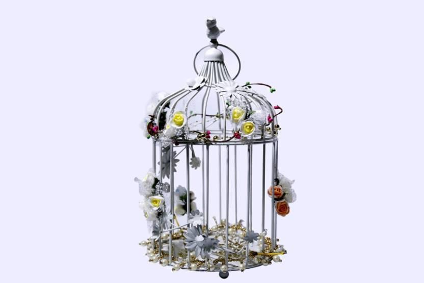 Konceptzz D Cage Showpiece  -  34 cm