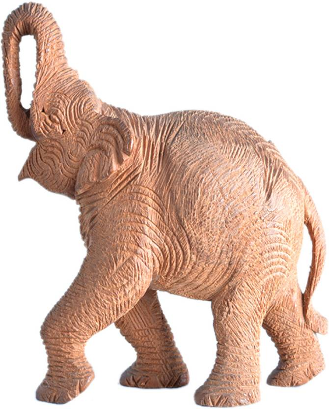 Sandalwood Elephant Showpiece