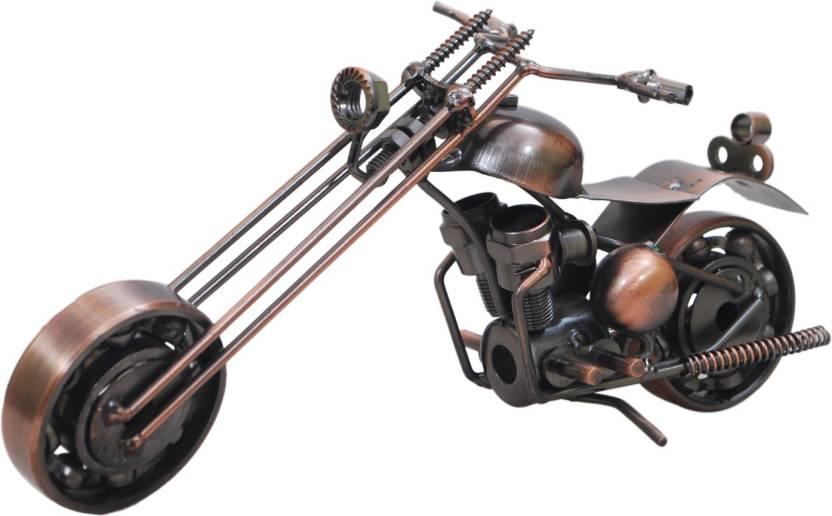 Pg Handicrafts Vintage Brass Bike Decorative Showpiece 9 Cm Price