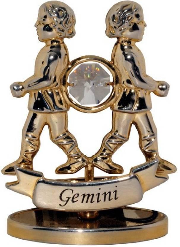 FELICITY ZODIAC SIGN GEMINI Decorative Showpiece - 6 cm