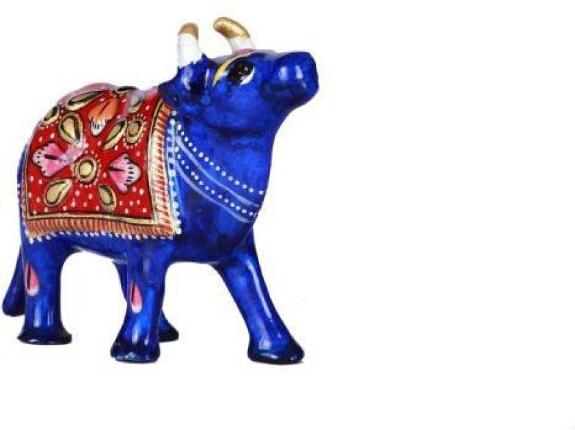 Hd Techno Crafts Cow Indian Relgious Animal Handmade Of Cast Iron 4