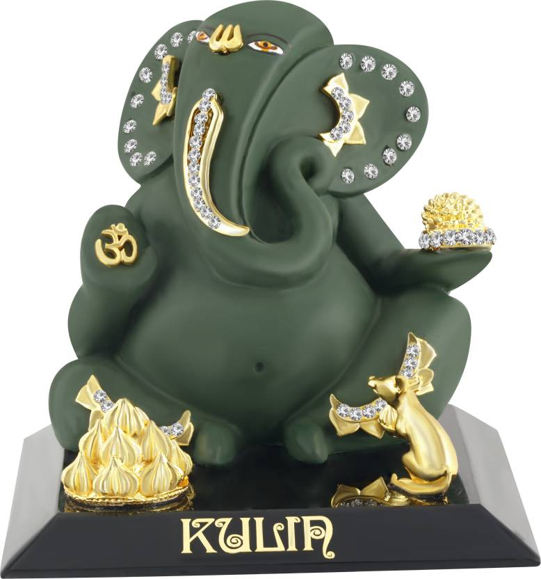 Kulin God Ganesh Ganpati Lord Ganesha Idol For Car Dashboard