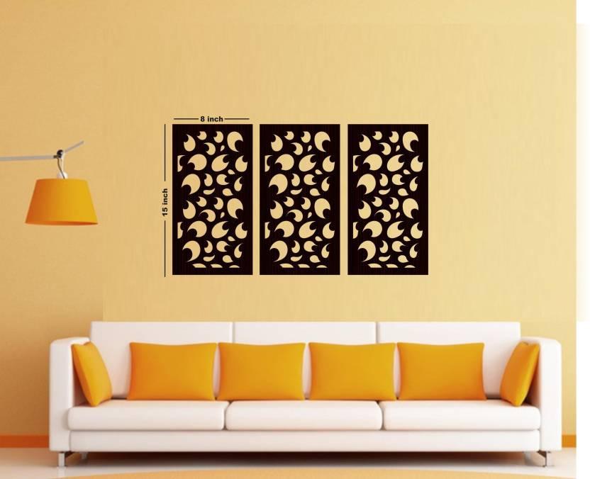 Creative Width Decor Abstract Swirl Wall Panel Decorative Showpiece ...