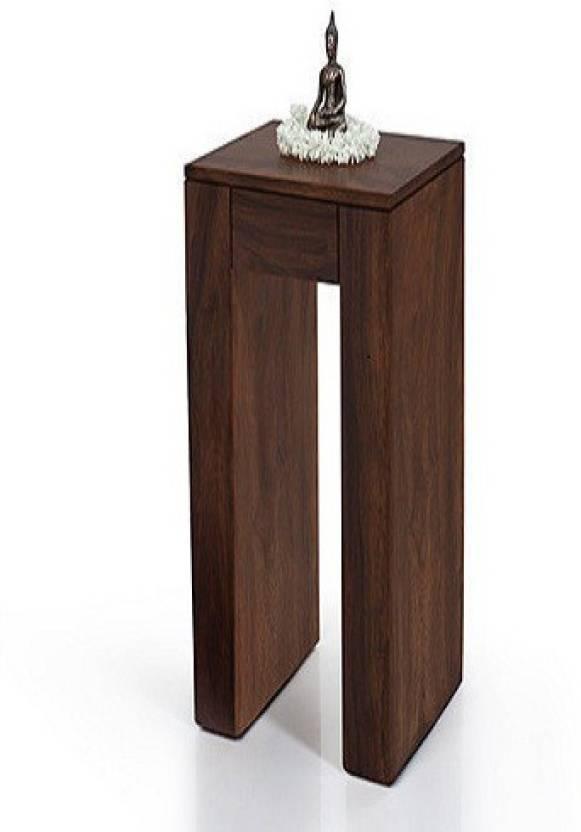 Ringabell Mini Solid Wood End Table Finish Color   Mahogany