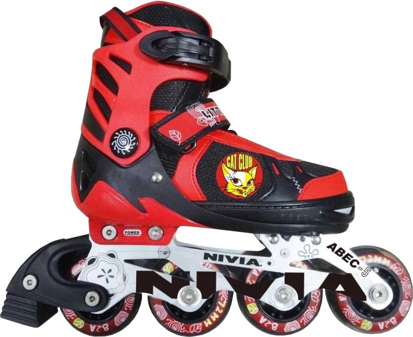 Nivia Cat Club In-line Skates - Size 35 - 38 Euro
