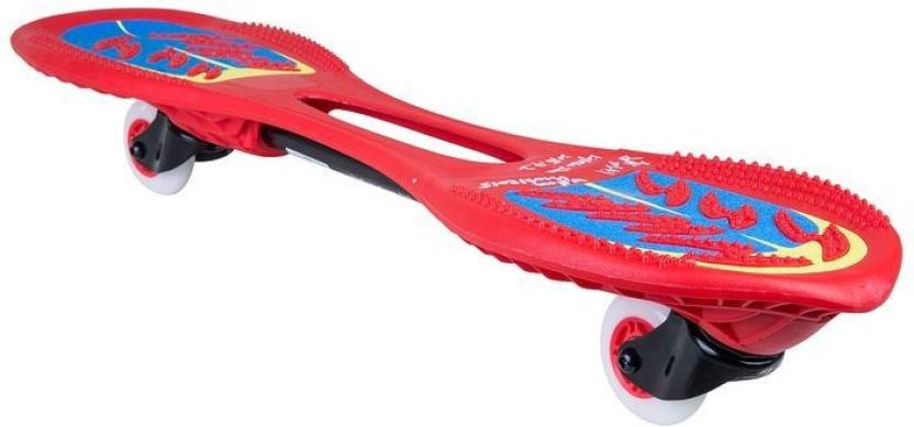 013b97f74 Oxelo by Decathlon OXELO OXELOBOARD BEGINNER FLASH RED 2 inch x 7 inch  Skateboard (Red