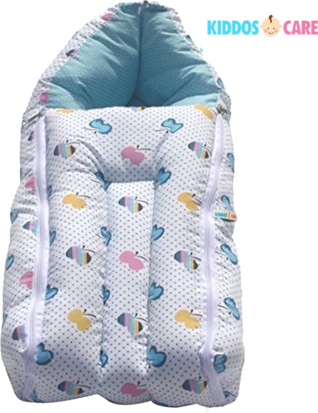 KiddosCare CarryBag Sleeping Bag  (Blue)