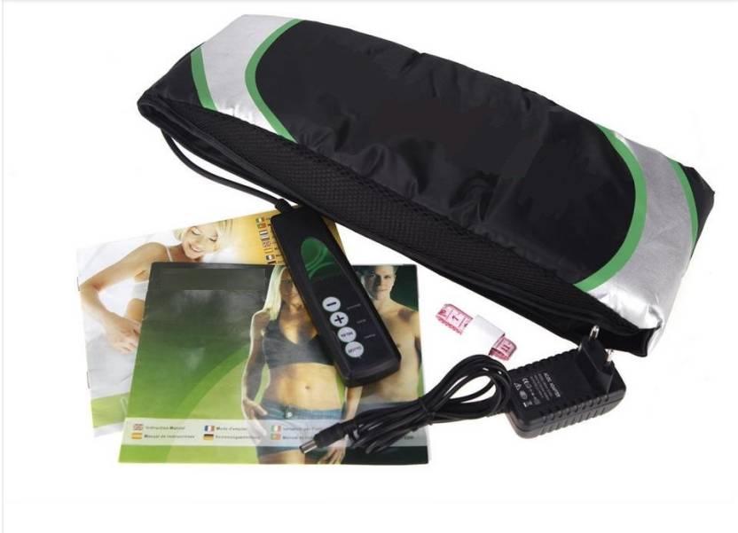 f914cd6fd692b VibeX ™ Professional Vibroaction™ Electric Mini Massager Machine Health  Care Body Shaper Burning Fat Digital Slimming Belt (Black)
