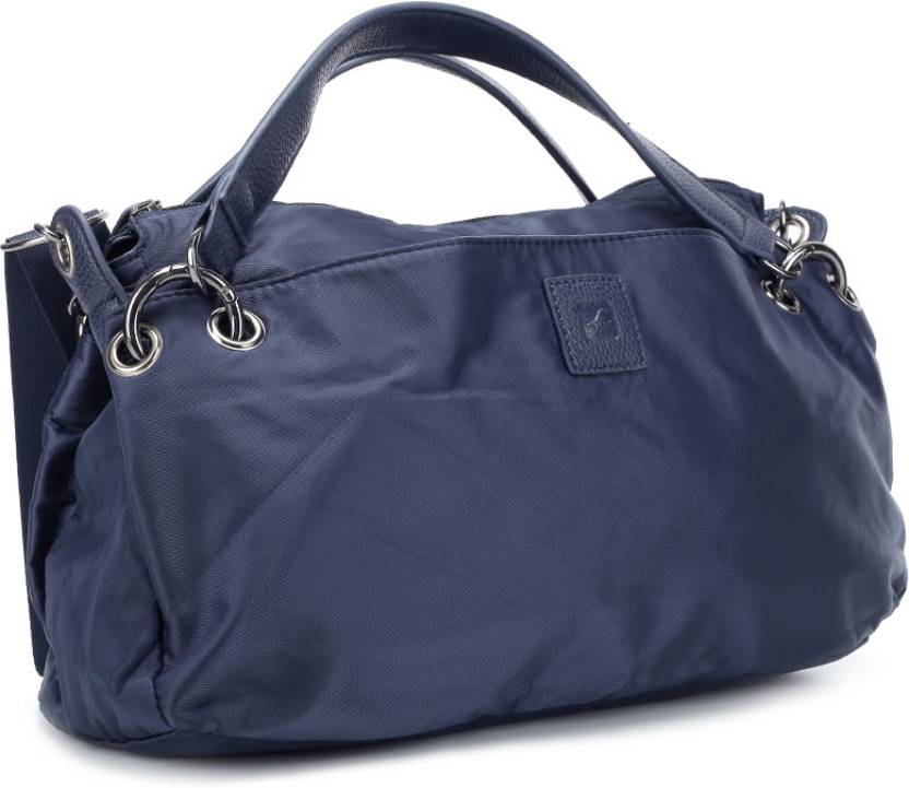 Fastrack Women Casual Blue Pu Sling Bag
