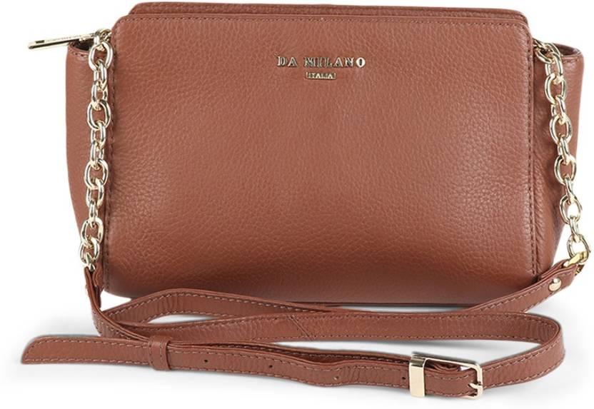 1b3bf785014 Da Milano Women Casual Sling Bag CON - Price in India