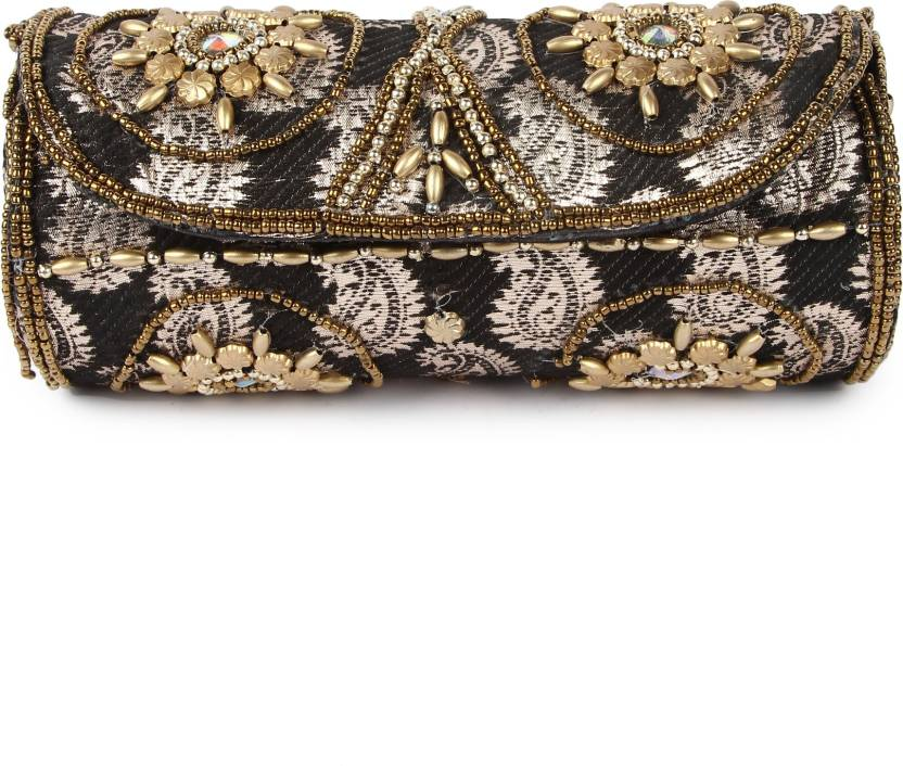 a1f2e96814 Kleio Women Casual Black Cotton Sling Bag