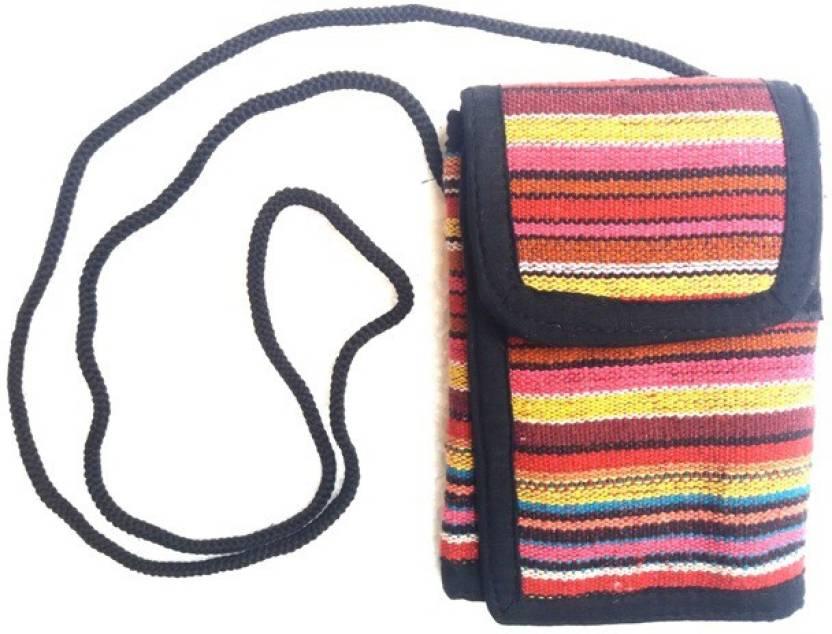Hr Handicrafts Boys Girls Multicolor Canvas Sling Bag Multicolor