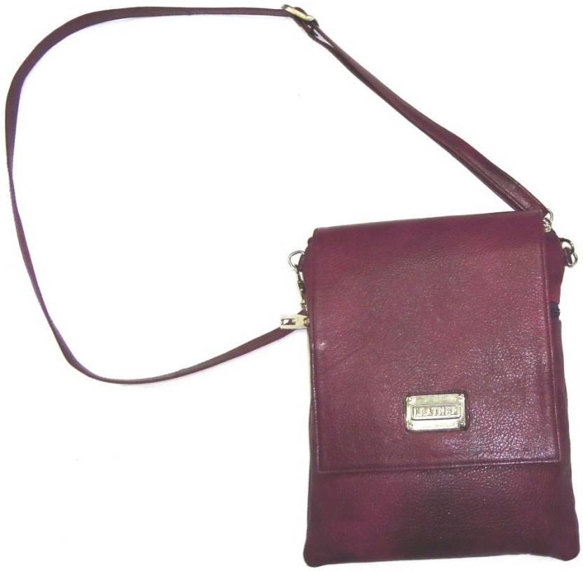 c76078c1ddec sphinx Men Formal Tan Genuine Leather Sling Bag